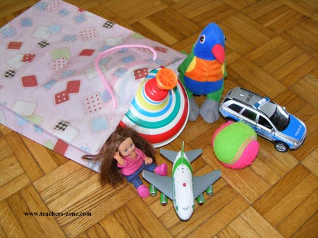 Speaking activity for toys vocabulary