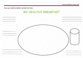 Food worksheets for primary school