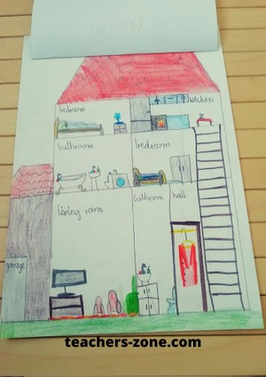 Dream house - project for young learners