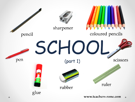 School supplies resources