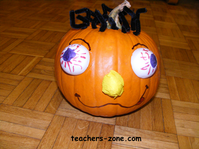 Halloween traditions - lesson for primary students