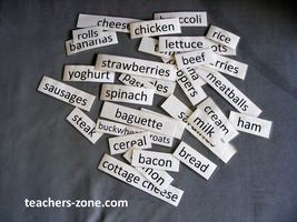 Food - word game