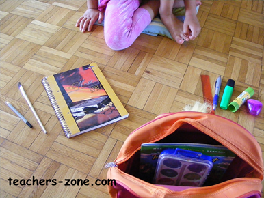 School things activities for young learners