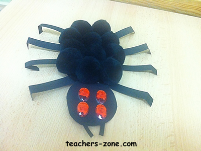 Halloween decorations for EFL/ESL students