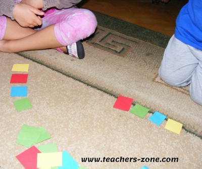 Games and play in primary classroom