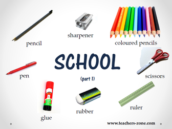 School things resources