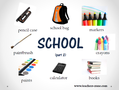 School supplies presources
