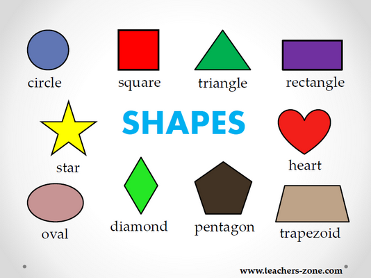 SHAPES - free teaching resources - Teacher's Zone blog - Teacher's ...