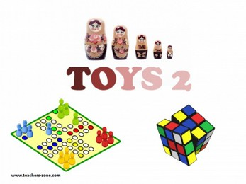 Free pictures for toys vocabulary